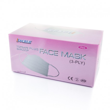 Masks pink 50pcs