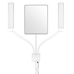 Lampa GLAMCOR Multimedia X biało-złota
