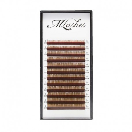 Tray dark brown MLashes 0,05 0,07
